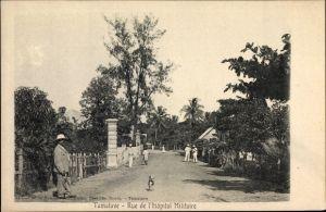 Ak Tamatave Toamasina Madagaskar, Rue de l'Hôpital Militaire