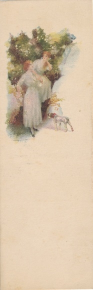 Mini Künstler Ak Terzi, Junge Frauen im Wald, Hund
