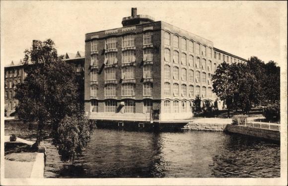 Ak Tampere Tammerfors Westfinnland, Pellava ja Rautateollisuus, Linne & Jernmanufaktur, Fabriken