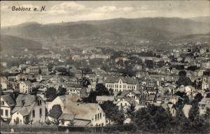 Ak Jablonec nad Nisou Gablonz an der Neiße Reg. Reichenberg, Blick über die Dächer der Stadt