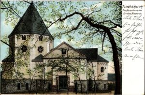 Ak Friedrichsruh Aumühle, Blick auf das Mausoleum des Fürsten Bismarck