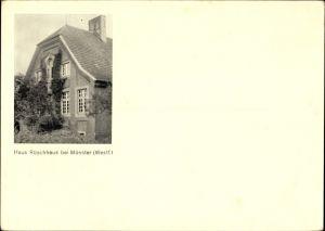 Ak Münster in Westfalen, Haus Rüschhaus, Annette von Droste Hülshoff
