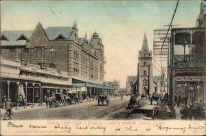 Ak Pretoria Südafrika, Church Street, looking towards Church Square