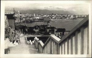 Foto Ak Split Kroatien, Pogled sa setalista Dr. Racica, Blick auf die Stadt