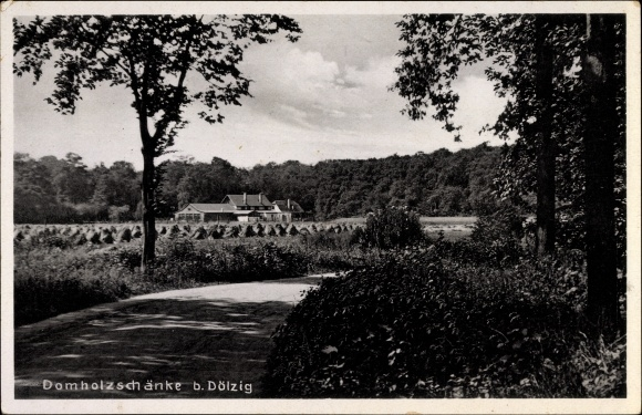 85733 Ak Domholzschänke bei Dölzig um 1940 Nr. 232633487604 ...