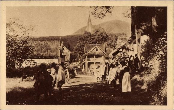 Ak Madagaskar, Le Village Malgache attend le Missionnaire