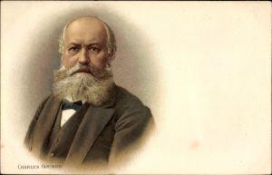 Litho Charles Gounod, Komponist, Portrait