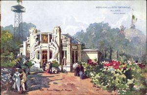 Künstler Ak Milano Mailand Lombardia, Esposizione 1906, Padiglione della Ditta Fontana