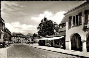 Ak Kronach im Frankenwald Bayern, Straßenpartie