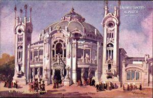 Künstler Ak Milano Mailand Lombardia, Esposizione 1906, Salone dei Concerti al Parco