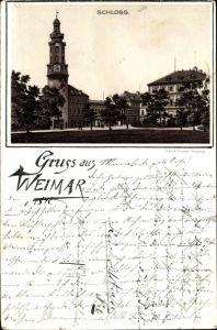 Vorläufer Litho Weimar in Thüringen, Schloss