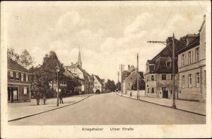 Ak Kriegshaber Augsburg in Schwaben, Partie in der Ulmer Straße