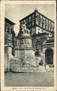Ak Udine Friuli Venezia Giulia, Statua della Pace di Campoformido