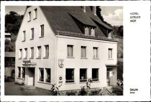 Ak Daun in der Eifel Rheinland Pfalz, Hotel Eifeler Hof, Bes. W. Bretthauer