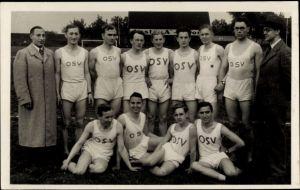 Foto Ak Oberhausen im Ruhrgebiet, OSV, Oberhausener Sportverein, Gruppenportrait
