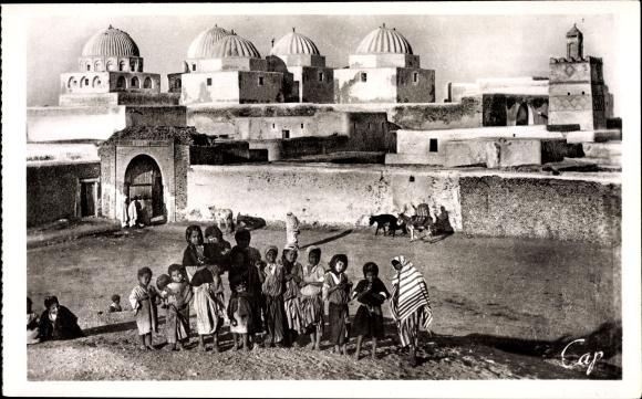 Ak Kairouan Tunesien, Vue de la Mosquee des Sabres