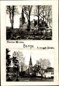 Foto Berge Niedersachsen, Kath. Kirche, Ev. Kirche