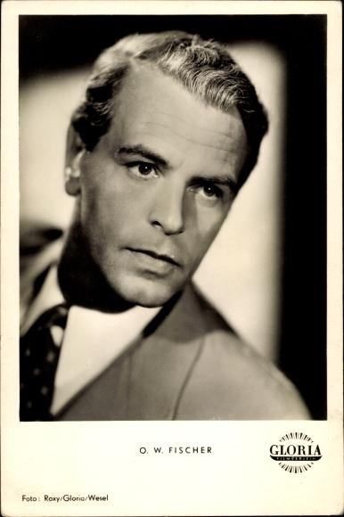 Ak Schauspieler O. W. Fischer, Portrait, Cuba Cabana, Mein Vater der Schauspieler