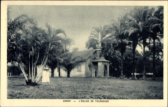 Ak Gabun, Vue de l'Eglise de Talagouga, Blick auf Missionskirche