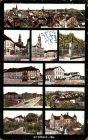 Ak Kamenz im Kreis Bautzen, Stadtansichten, Rathaus, Markt, Bahnhof, Kasino