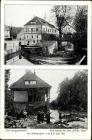 Ak Berggießhübel in Sachsen, Stadtansichten, Katastrophe vom 8./9. Juli 1927, Überschwemmung