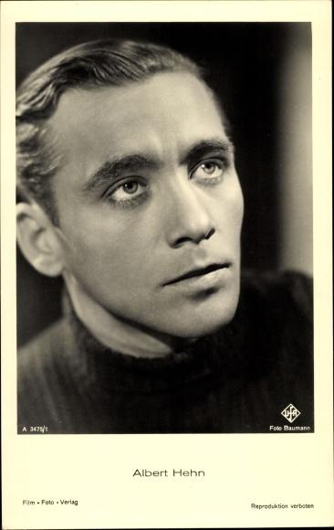 Ak Schauspieler Albert Hehn, Portrait, Ufa Film