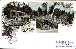 Litho Wilthen im Kreis Bautzen Sachsen, Mönchswalder Berg, Inh. Emil Gröschel