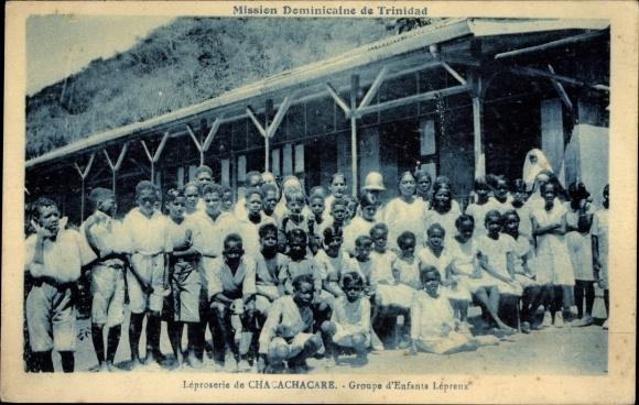 Ak Chacachacare Trinidad & Tobago, Groupe d'Enfants Lépraux, Leprakranke