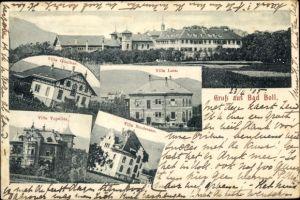 Ak Bad Boll Baden Württemberg, Villa Günther, Villa Lutz, Villa Vopelius, Villa Brodersen