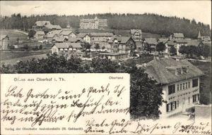 Ak Oberhof im Thüringer Wald, Oberland und Wald