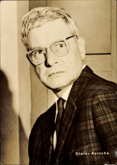 Ak Schauspieler Dieter Borsche, Portrait