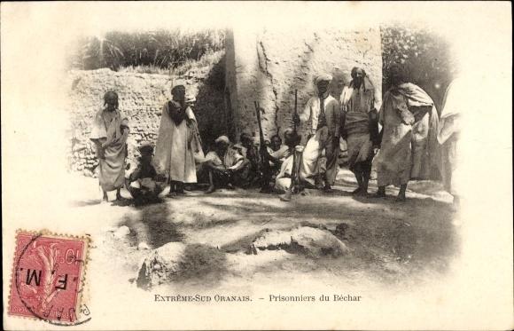 Ak Algerien, Extrême Sud Oranais, Prisonniers du Béchar, Gefangene