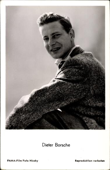 Ak Schauspieler Dieter Borsche, Portrait aus dem Film Dr. Holl