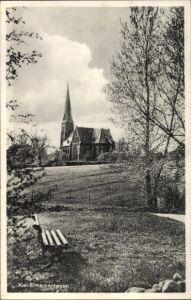 Ak Elmschenhagen Kiel in Schleswig Holstein, Blick zur Kirche