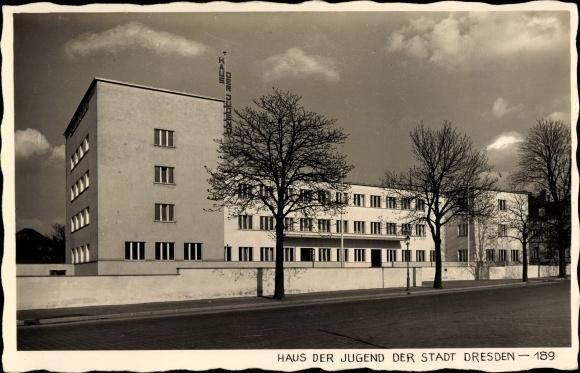 dresden haus d jugend 2175 nr 156229818 oldthing ansichtskarten deutschland plz 01. Black Bedroom Furniture Sets. Home Design Ideas