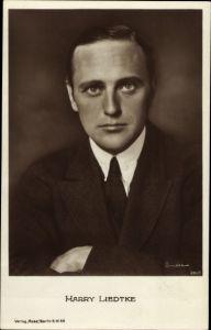 Ak Schauspieler Harry Liedtke, Portrait im Anzug, Ross Verlag 284 2, RPH