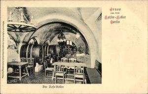 Ak Berlin Mitte, Innenansicht vom Rosekeller im Kaiserkeller