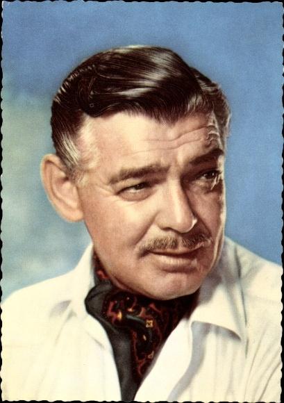 Ak Schauspieler Clark Gable, Portrait, Vom Winde verweht