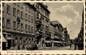 Ak Göttingen in Niedersachsen, Neanderstraße mit Hotel zur Krone