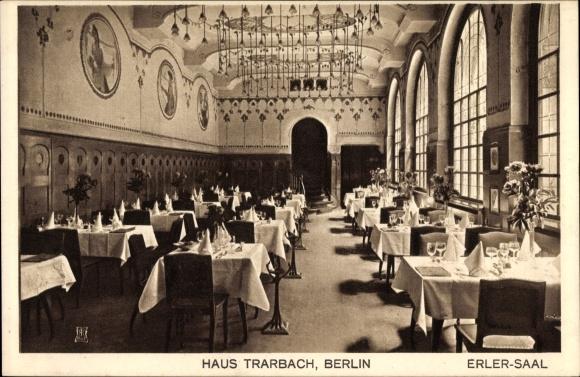 Ak Berlin, Haus Trarbach, Erler Saal, Behrenstraße 47