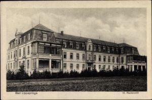 Ak Bad Lippspringe im Kreis Paderborn, St. Marienstift