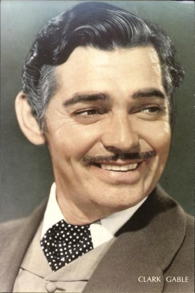 Ak Schauspieler Clark Gable, Seitenportrait, Karte 576