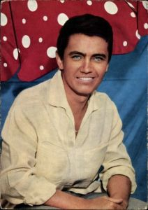 Ak Schauspieler und Sänger Rex Gildo, Sitzportrait