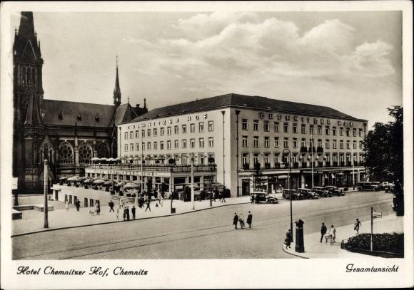 Ak Chemnitz In Sachsen Schone Detailansicht