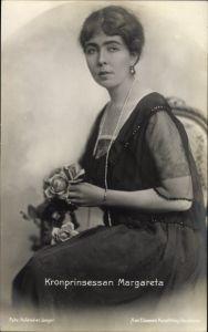 Ak Kronprinsessan Margareta, Schwedische Kronprinzessin Margareth of Connaught