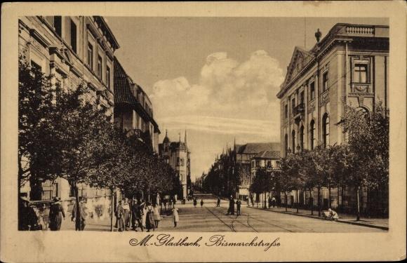 Bismarckstraße Mönchengladbach ak mönchengladbach in nordrhein westfalen bismarckstraße nr