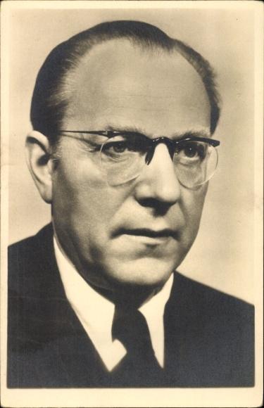 Ak Otto Grotewohl,1949 bis 1964 Ministerpräsident der DDR