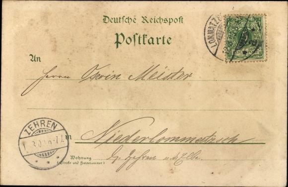 Litho Hřensko Herrnskretschen Elbe Reg. Aussig, Kamnitzklamm, Edmundsklamm, Restauration 1
