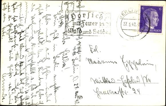 Ak Berlin Charlottenburg, Reichssportfeld, Olympia 1936, Fußballspiel 1