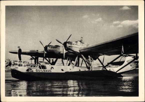 Ak Hydravion de Grande Croisière, Guilbaud, Wasserflugzeug